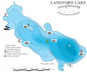 hot spots for langfod lake