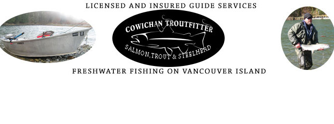 Guided Freshwater fishing on Vancouver Island